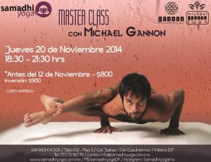 Ashtanga Master Class Michael Gannon Samadhi Yoga