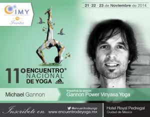 Gannon at Encuentro Nacional de Yoga