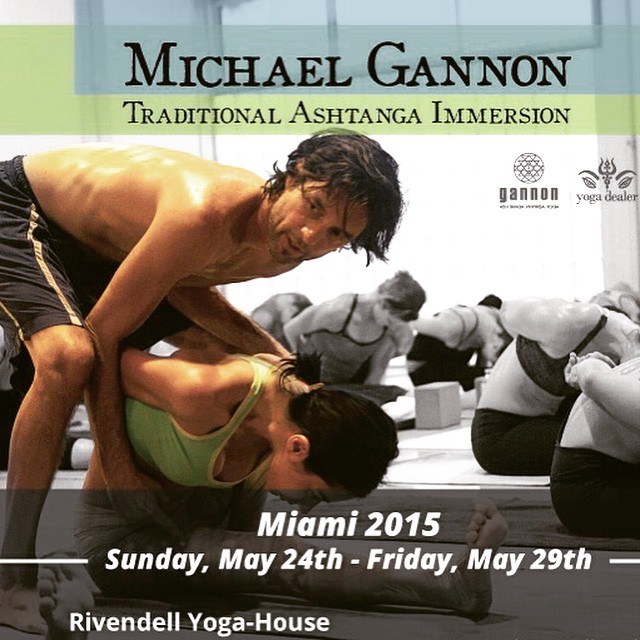 Michael Gannon at Miami Rivendell Yoga House
