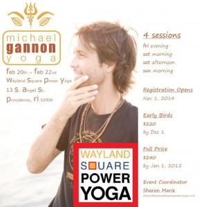 Michael Gannon Yoga Rhode Island